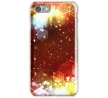 abstract celebration background iPhone Case/Skin