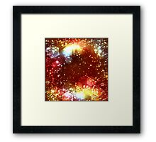 abstract celebration background Framed Print