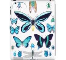 Teal Insect Collection iPad Case/Skin
