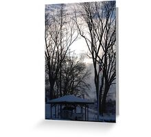 Above the trees Greeting Card