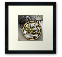 mechanical watches Framed Print