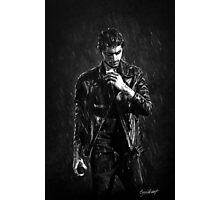 Wet Zayn Photographic Print