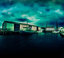 Queens Wharf, Wellington - New Zealand by Derek Kan