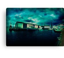 Queens Wharf, Wellington - New Zealand Canvas Print