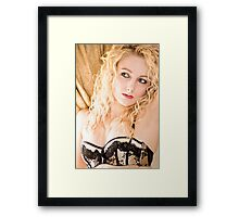 Window Light Framed Print