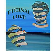 Two Heads, ETERNAL LOVE Photographic Print