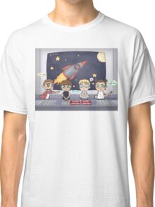 Space Station Excursion Classic T-Shirt