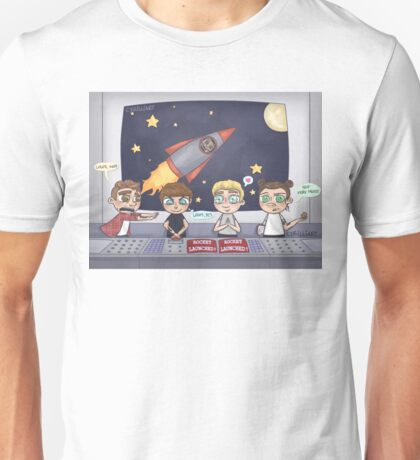 Space Station Excursion Unisex T-Shirt