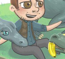 Liam and his Raptor Squad Sticker