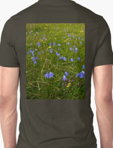 A sea of Harebells, Rossbeg, Co Donegal Unisex T-Shirt