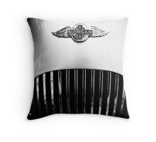 Morgan vintage collection car Throw Pillow
