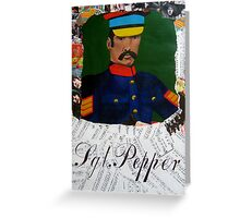 Sgt. Pepper 1 Greeting Card