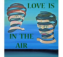 The Couple, LOVE  IS IN THE AIR Photographic Print