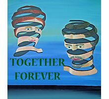 The Couple, Together Forever Photographic Print