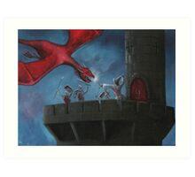 Tower Defence Art Print