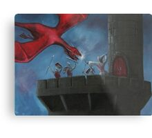 Tower Defence Metal Print