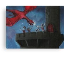Tower Defence Canvas Print