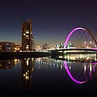 Clyde arc reflection by Grant Glendinning