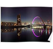 Clyde arc reflection Poster