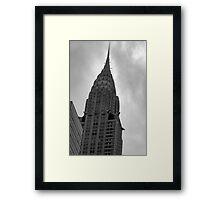 Dark Spire - Chrysler Building Framed Print