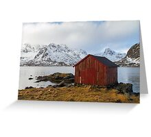The red shed Greeting Card