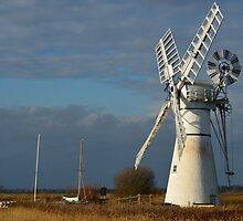 Thurne Dyke Windpump by Blagnys