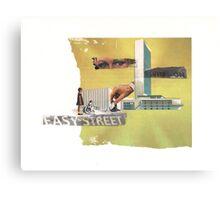 Easy Street Canvas Print