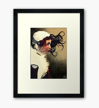 Lady Brown Framed Print
