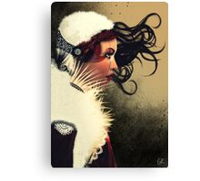 Lady Brown Canvas Print