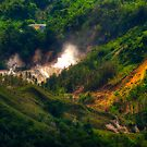 Saint Lucia Sulphur Springs by Roland Pozo