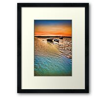 The Jetty Two Tree Island Framed Print