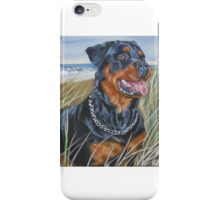 Rottweiler Fine Art Painting iPhone Case/Skin