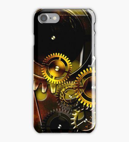 abstract steampunk machine mechanism iPhone Case/Skin