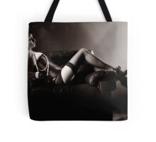 She Waits, Impatiently Tote Bag