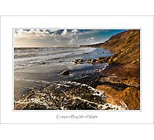 Compton Bay, Isle of Wight Photographic Print