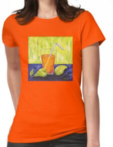 Still Life with Pears Womens Fitted T-Shirt