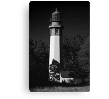 grays harbor lighthouse, westport, washington, usa Canvas Print