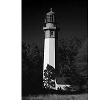 grays harbor lighthouse, westport, washington, usa Photographic Print