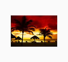 Sunset over Playa del Carmen, MEXICO Unisex T-Shirt