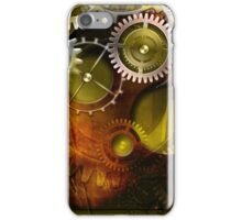 abstract steampunk mechanism iPhone Case/Skin