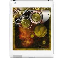 abstract steampunk mechanism iPad Case/Skin