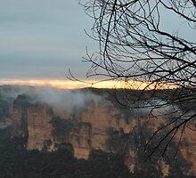 Evans Lookout Sunrise.4-1-11. by Warren  Patten