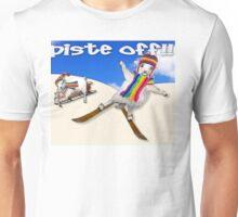 Baaad Sheep Piste Off! Unisex T-Shirt