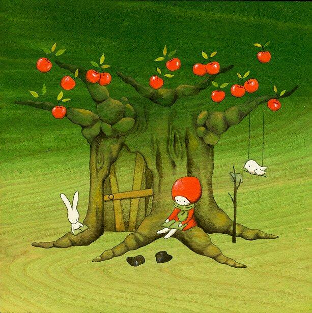 My Apple Tree House -Reading- by naokosstoop