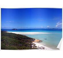 Whiteheaven Beach, Whitsundays Poster