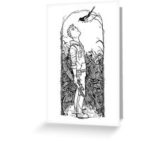 Eyes on the Sky Greeting Card