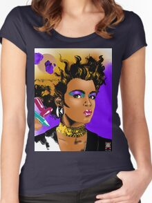 Make-Up Women's Fitted Scoop T-Shirt