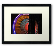 The Wheel Of Colour Framed Print