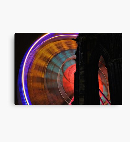 The Wheel Of Colour Canvas Print