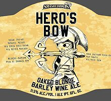 Smashed Bros. Hero's Bow Oaked Blonde Barley Wine Ale (#3) by Steven Thibaudeau